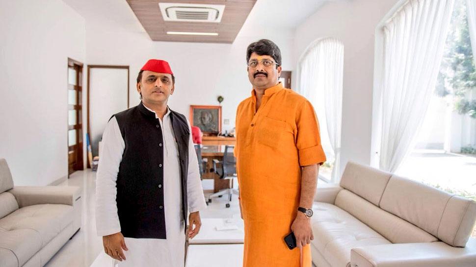 राज्यसभा चुनाव 2018 : बाहुबली राजा भैया ने सपा उम्मीदवार जया बच्चन को दिया वोट