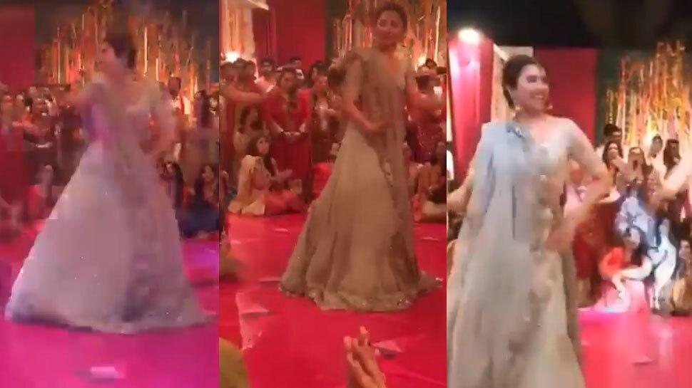 Video: इस पाकिस्तानी एक्ट्रेस ने दोस्त की शादी में जमकर लगाए ठुमके, लूट लिया यूपी-बिहार
