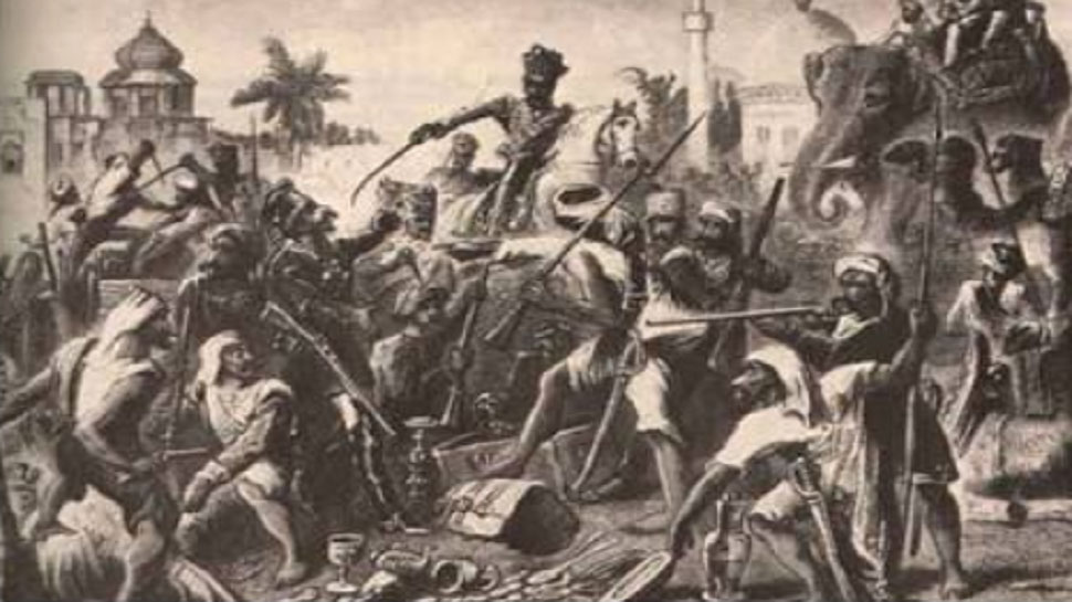 Mangal Pandey, the freedom fighter, who had flown against the British