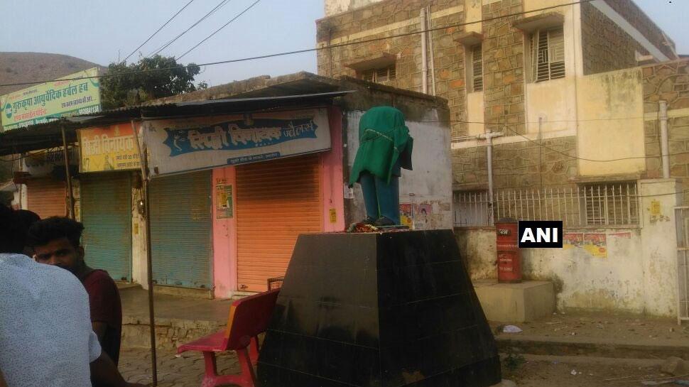 जारी है मूर्तियों से छेड़छाड़ का सिलसिला, अब राजस्थान और यूपी में आंबेडकर की मूर्ति तोड़ी