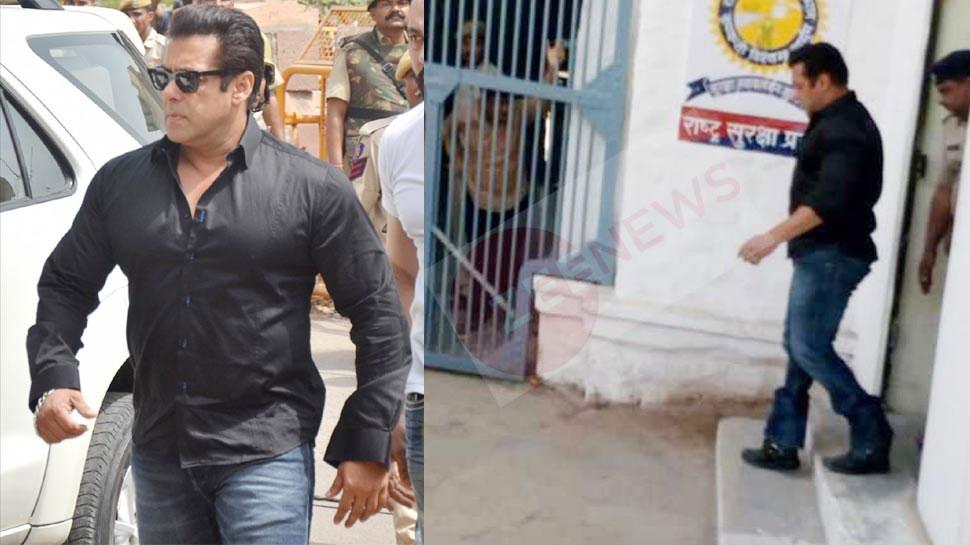Salman khan give autograph to jail staff in jodhpur jail