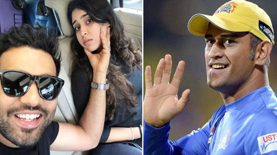 पत्नी ने रोहित शर्मा को बताया 'कैप्टन कूल', धोनी के फैन्स ने लगा दी 'क्लास'