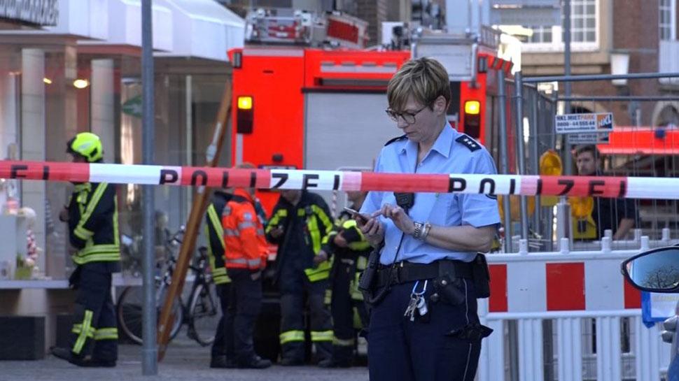 जर्मनी : बेकाबू कार ने पैदलयात्रियों को रौंदा, 4 की मौत, ड्राइवर ने खुद को गोली मारी