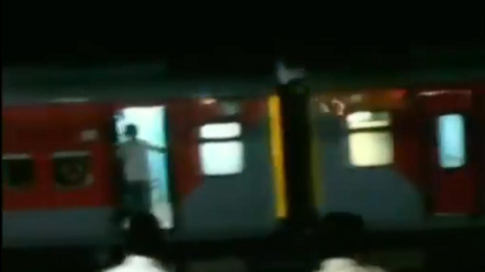 VIDEO: बिना इंजन के ही पटरी पर 10 Km तक दौड़ गई अहमदाबाद-पुरी एक्सप्रेस