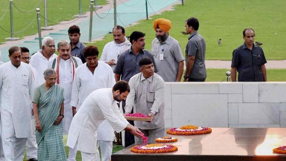 दलितों के खिलाफ अत्याचार के विरोध में कांग्रेस का देशभर में उपवास, राजघाट पर बैठेंगे राहुल गांधी