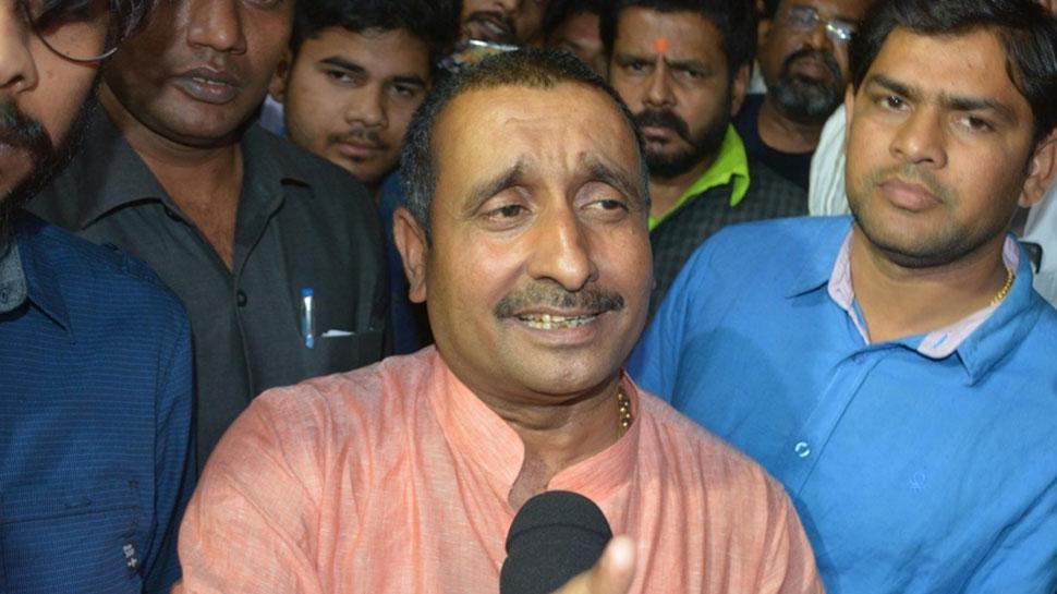 उन्नाव गैंगरेप: BJP विधायक कुलदीप सेंगर के खिलाफ FIR, योगी सरकार ने CBI को सौंपा केस
