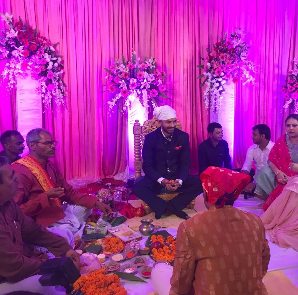 tej pratap and aishwarya engagement in patna