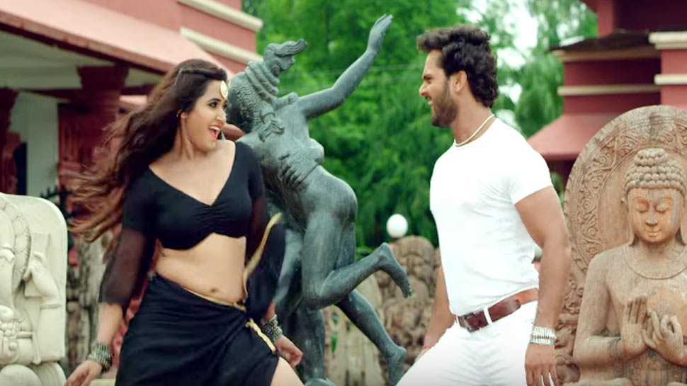 खेसारीलाल और काजल राघवानी के इस गाने पर झूम रहे हैं लोग, लाखों बार देखा गया VIDEO
