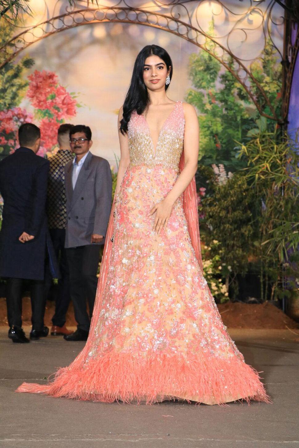 Sonam Kapoor Reception, Jhanvi Kapoor, Arjun Kapoor, Khushi Kapoor, Anshula Kapoor, Boney kapoor
