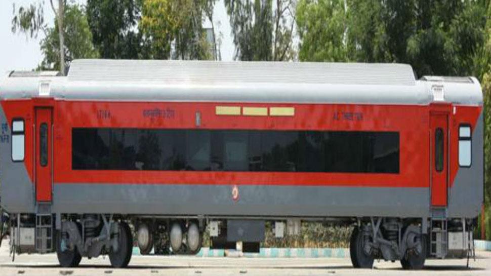 हादसे रोकने के लिए Railway का खास इंतजाम, विमान की तरह बनाया 'स्मार्ट कोच'