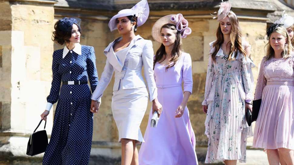 Indian Girl Priyanka Chopra at Royal Wedding Looks Perfect