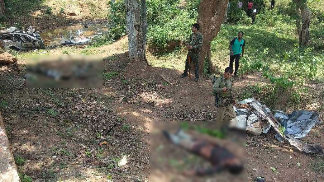 Chhattisgarh : 6 Jawan Killed and 1 injured In Dantewada IED BLAST Naxal Attack