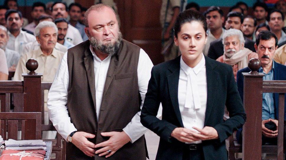 PIC: 'मुल्क' का फर्स्ट लुक हुआ रिलीज, वकील बनीं दिखी तापसी पन्नू