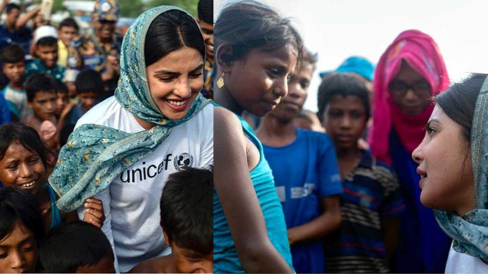 रोहिंग्या शरणार्थियों के बच्चों को मदद की सख्त जरूरत: प्रियंका चोपड़ा
