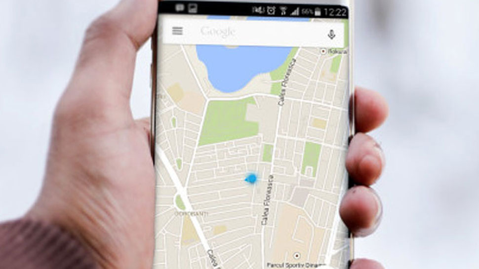 Sharing your location with google map