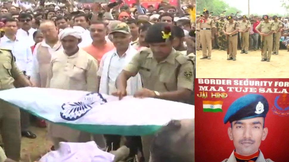 फतेहपुर: शहीद विजय पांडे को अंतिम विदाई, 15 जून को होने वाली थी शादी