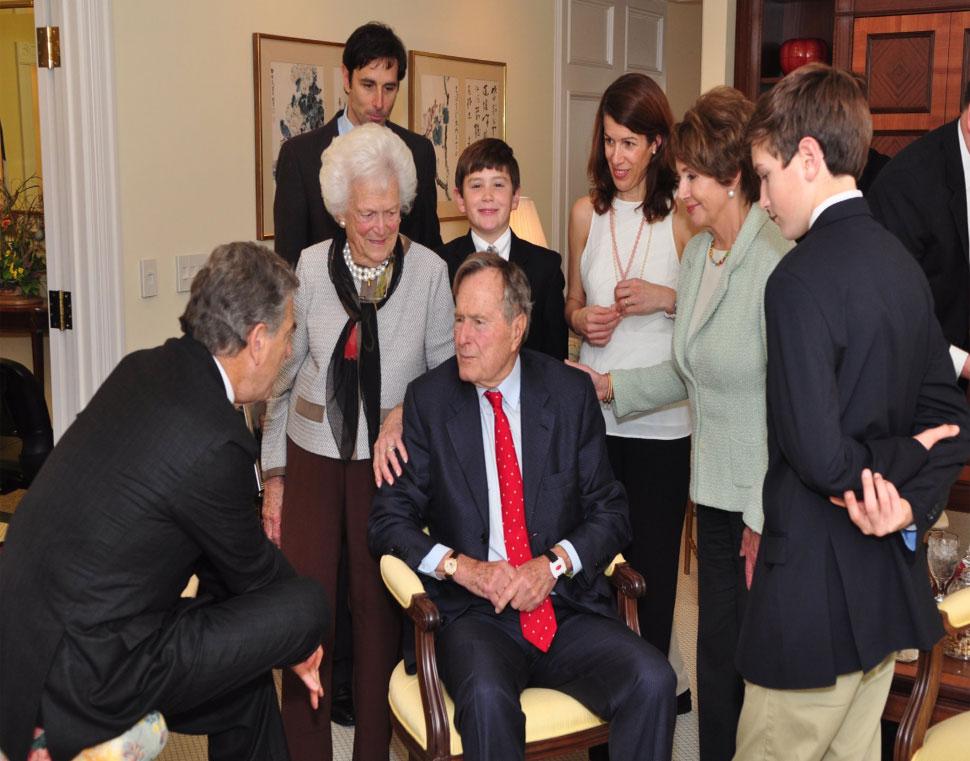 U.S. presidents George H.W. Bush 94th birthday