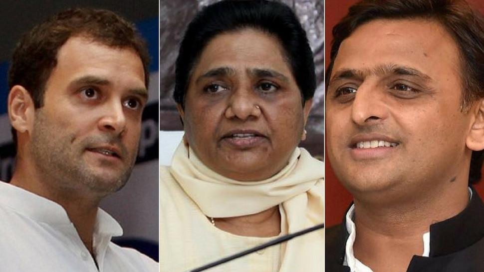 UP: बीजेपी को हराने के लिए SP-BSP, कांग्रेस साथ लड़ेंगे चुनाव, ये रहेगा सीट शेयरिंग का फॉर्मूला