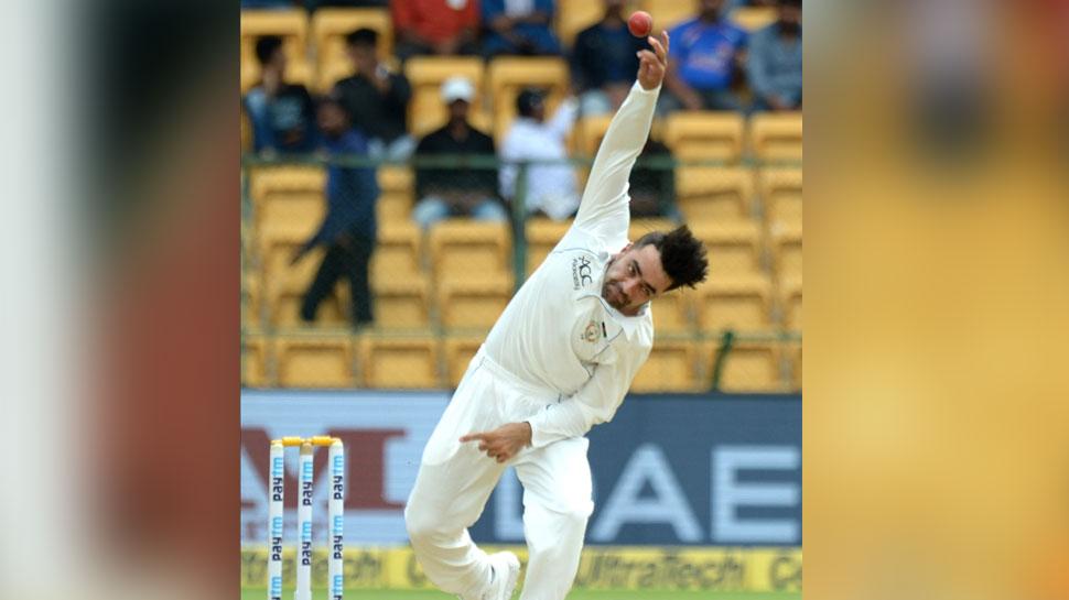 INDvsAFG LIVE : अंतिम सत्र में अफगान गेंदबाजों ने की वापसी, भारत को 347 रनों पर रोका