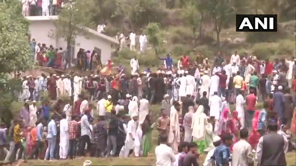 martyr Aurangzeb funeral