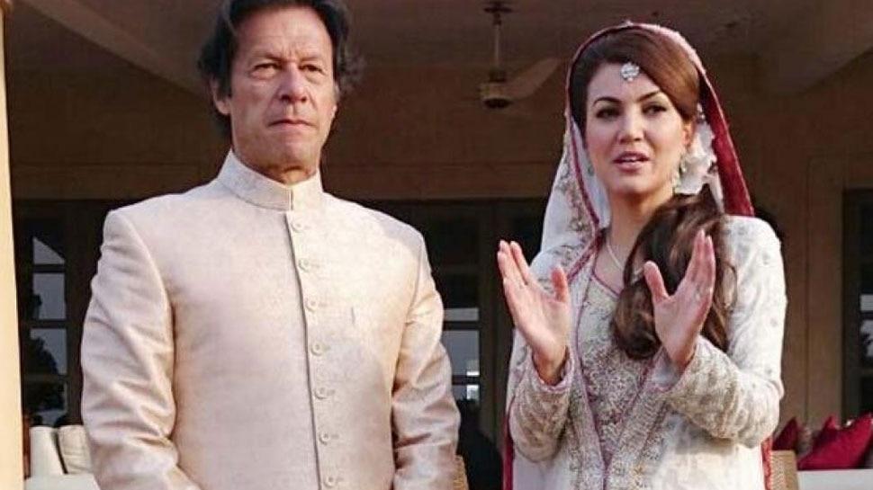 Imran khan political career may hit by book of Ex wife Reham khan