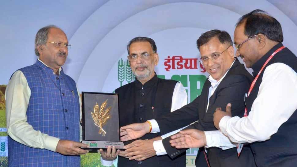 अनाज उत्पादन में छत्तीसगढ़ को मिला पुरस्कार, कृषि उत्पादों में 28 फीसदी का इजाफा