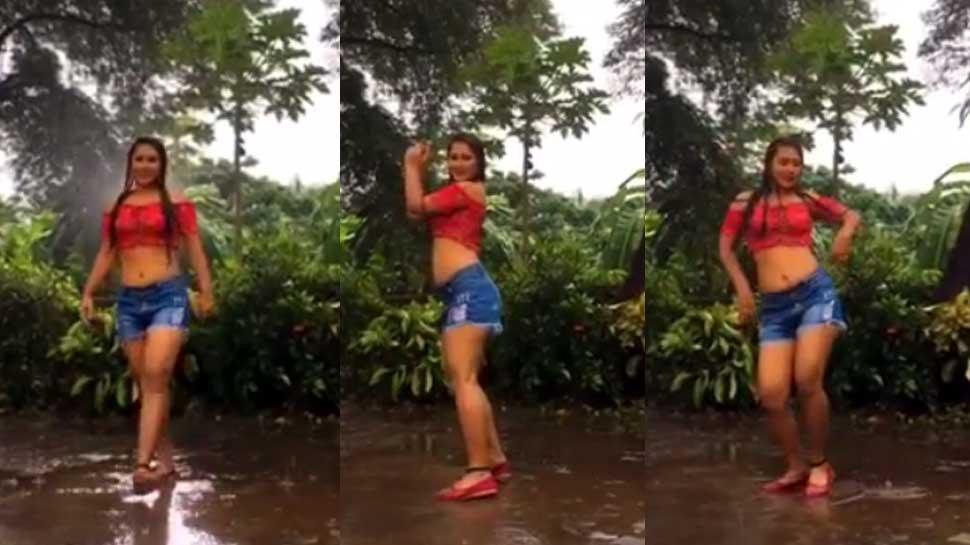 Video: बारिश की बूंदों में गार्गी पंडित ने दिखाई ऐसी अदाएं, इंटरनेट पर मचा हंगामा