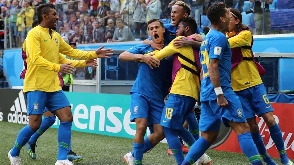 फीफा विश्व कप: ब्राजील ने आक्रामक खेल दिखा सर्बिया को दी 2-0 से मात