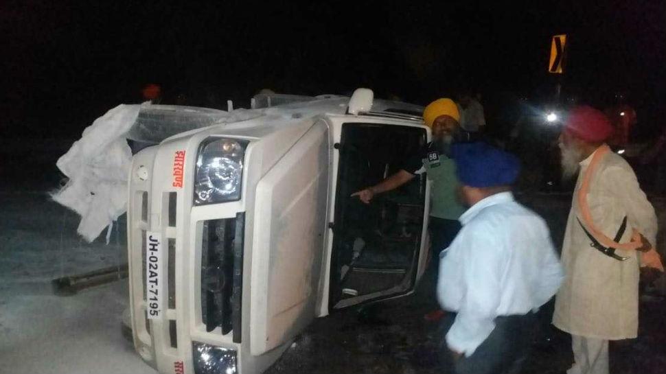 हजारीबाग: मंत्री जयंत सिन्हा की गाड़ी दुर्घटनाग्रस्त, बाल-बाल बचे