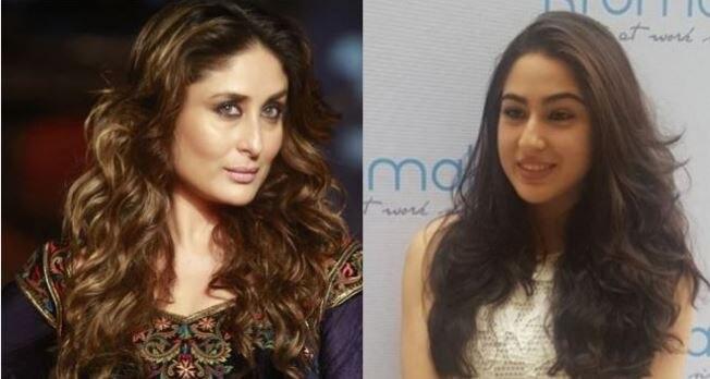 सारा अली खान की खूबसूरती के लिए कुछ इस तरह मदद कर रही हैं करीना कपूर...