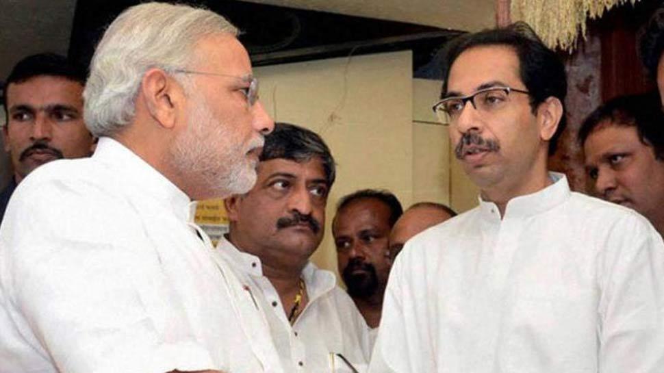 नोटबंदी तत्काल हुई, तो राममंदिर क्यों नहीं: शिवसेना का BJP से सवाल