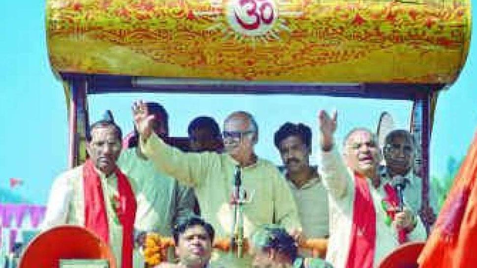 लालकृष्ण आडवाणी की रथ यात्रा की वजह से अब तक राम मंदिर का निर्माण नहीं- सपा नेता