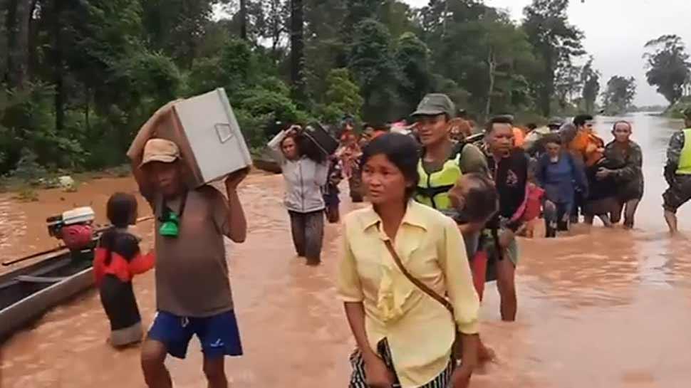 बैंकॉक: लाओस में टूटा बांध, सैकड़ों लोग लापता, कई लोगों के मरने की आशंका