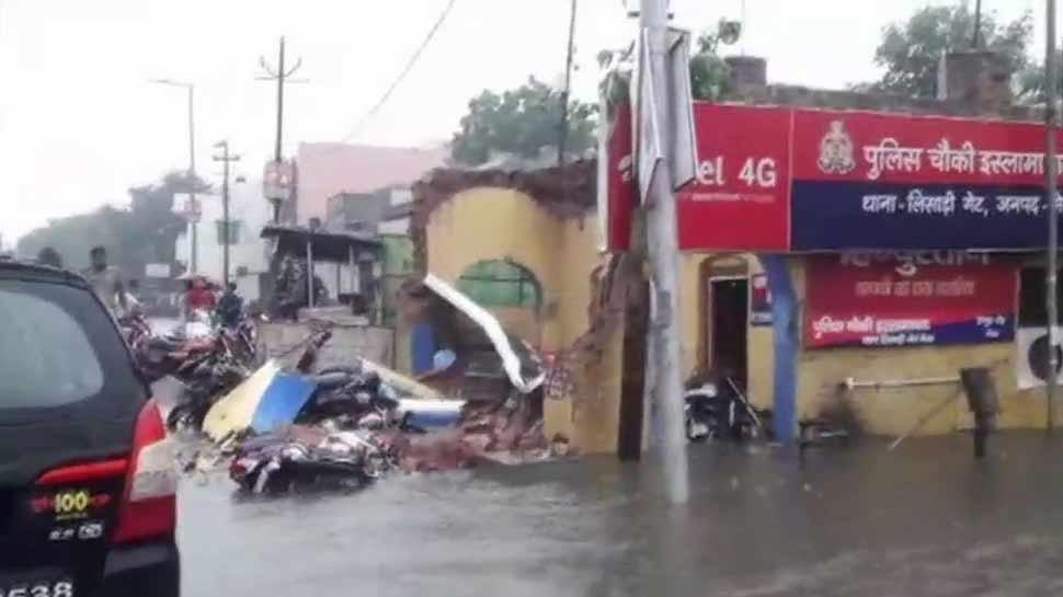 यूपी में आफत की बारिश का कहर, अबतक 49 लोगों की मौत