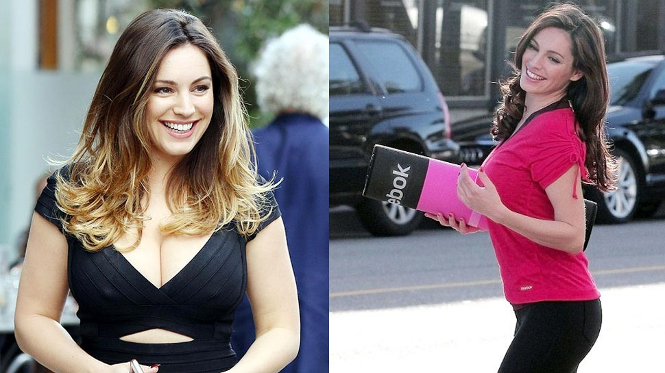 Kelly Brook has perfect figure in the world