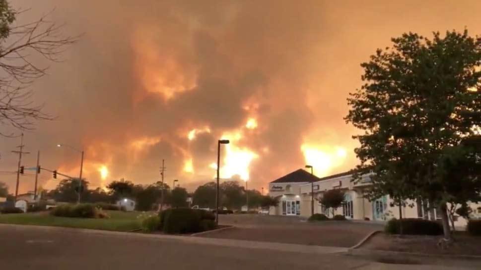 कैलिफोर्निया: आग ने मचाई तबाही, ट्रंप ने आपात स्थिति की घोषणा की