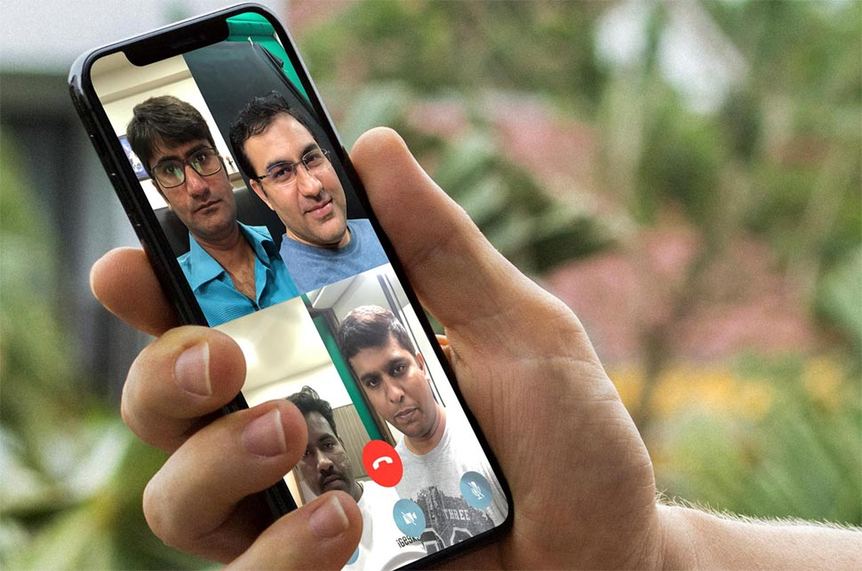 Whatsapp Group Video Calling: Only one user at a time connect to Call by users