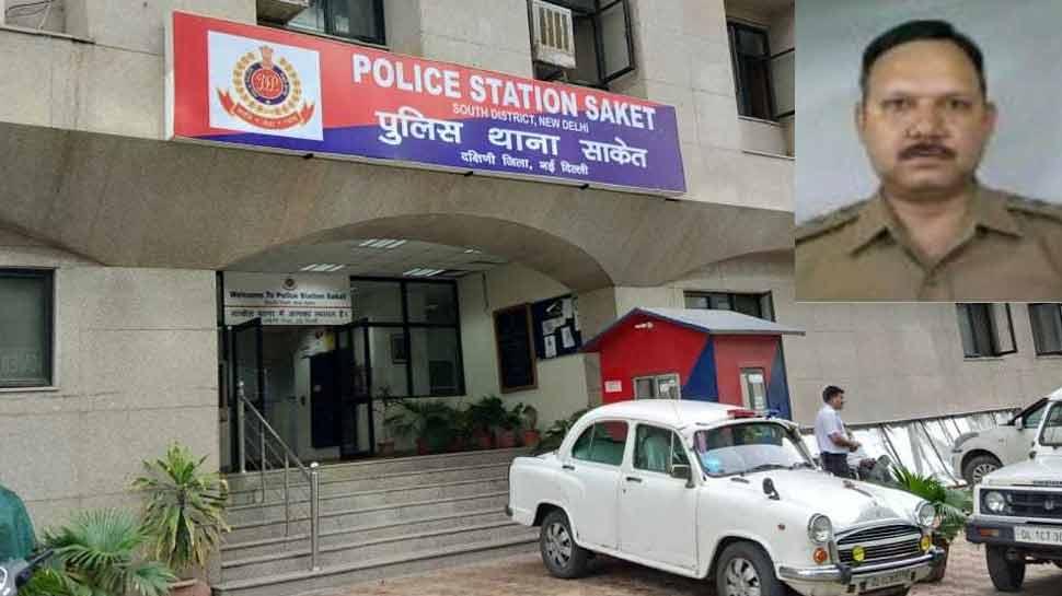 दिल्लीः बिल्डर से 2 लाख रुपये रिश्वत लेते हुए पकड़ा गया साकेत थाने का SHO