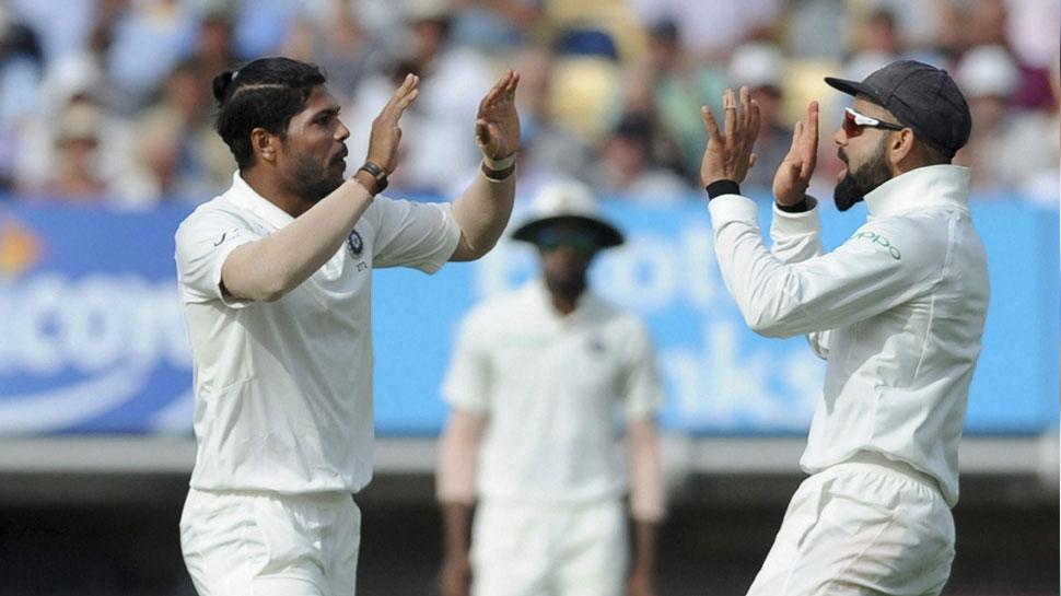 Umesh Yadav took first wicket