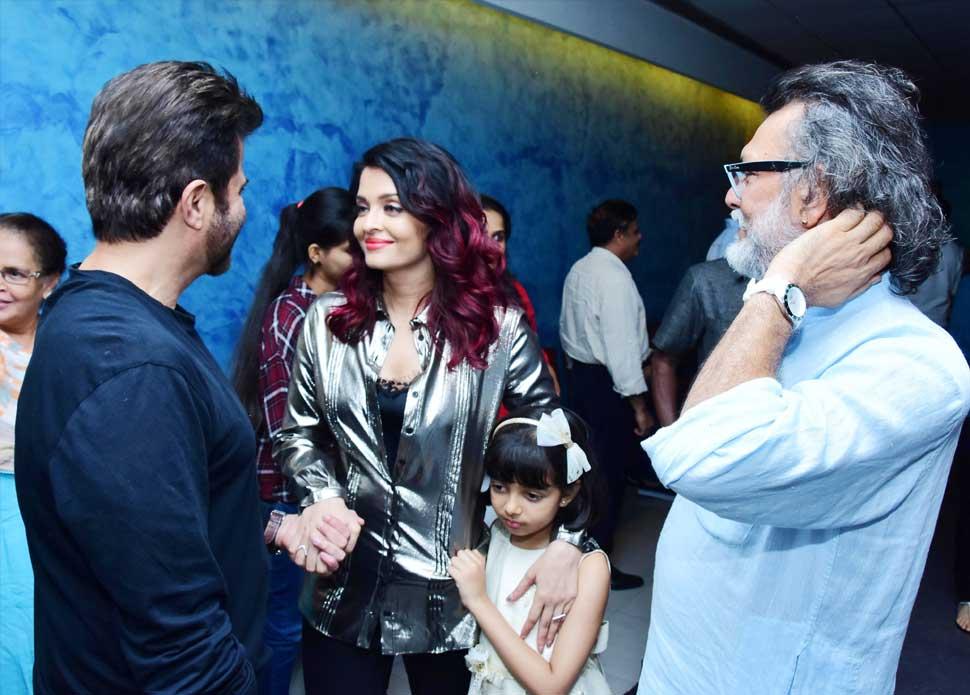 Fanney Khan Special Screening: Aishwarya Rai Bachchan gave Madhuri warm hug