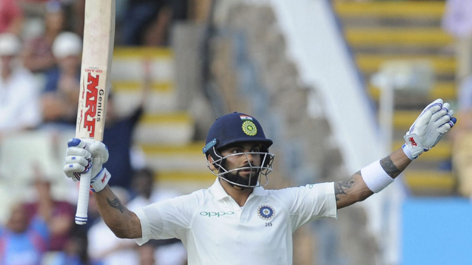 Virat got out uniquely