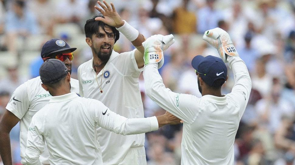 Ishant sharma 5 wicket haul