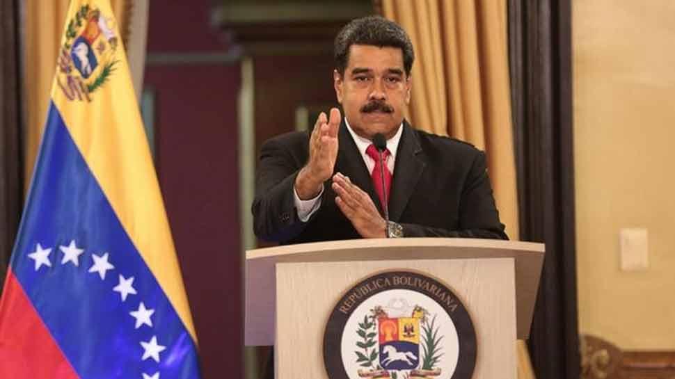 वेनेजुएला के राष्ट्रपति दे रहे थे भाषण तभी मंच पर ड्रोन से हुआ हमला, फिर...