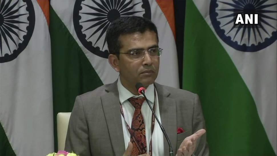विदेश मंत्रालय ने कहा, 'NRC मुद्दे पर बांग्लादेश के साथ लगातार संपर्क में है भारत'