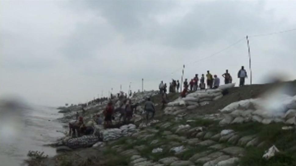 बिहार : गोपालगंज में फिर मंडराने लगा बाढ़ का खतरा, गंडक का कटाव तेज
