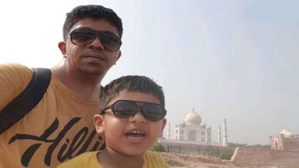 भारत घूमने आया था बाप-बेटे का जोड़ा, यात्रा के दौरान ही बना दिया विश्व रिकॉर्ड
