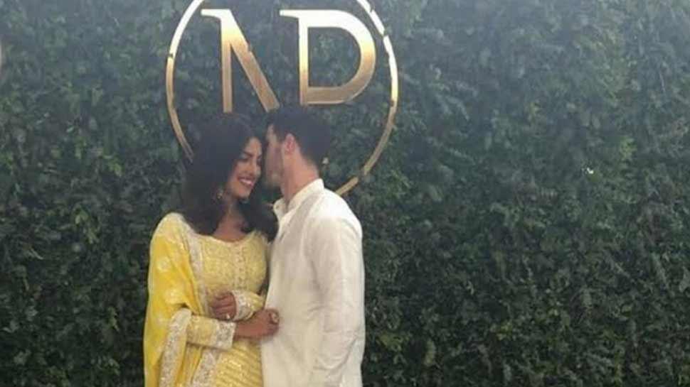 प्रियंका और निक के रिश्ते पर लगी मुहर, 'रोका' की पहली तस्वीर आई सामने