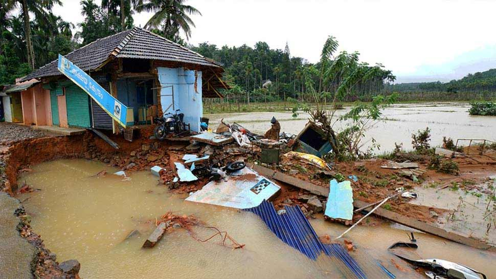 केरल बाढ़: बारिश में कमी के बाद भी कम नहीं हुई हैं मुसीबतें, 13 लाख लोग बेघर