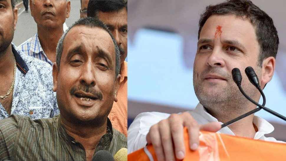 उन्नाव रेप केस के चश्मदीद गवाह की मौत, राहुल बोले- 'साजिश की आ रही है बू'