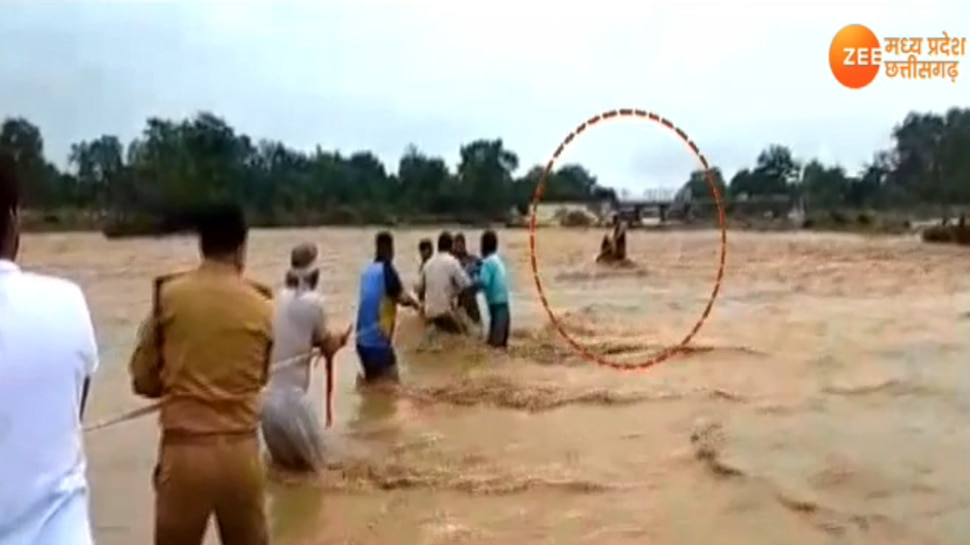 Dead Body washed away in river
